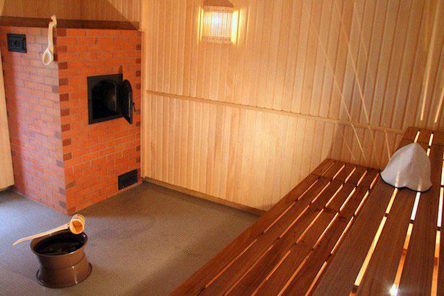 İnşaat: bir sitede kendi eliyle bir bardan bir sauna